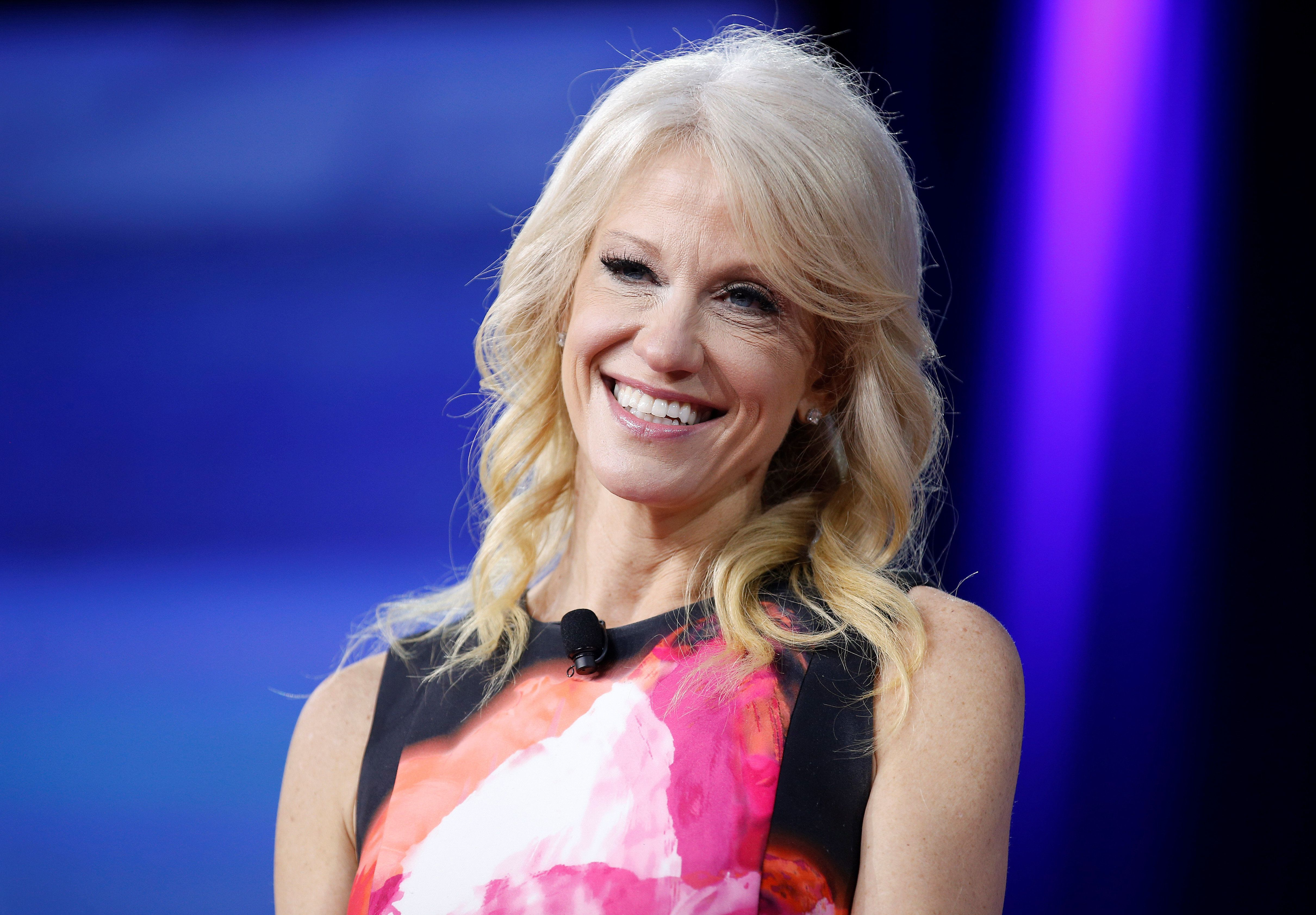 Kellyanne Conway, counsel to President Donald Trump, is one of many top advisers who has had direct access to the president.
