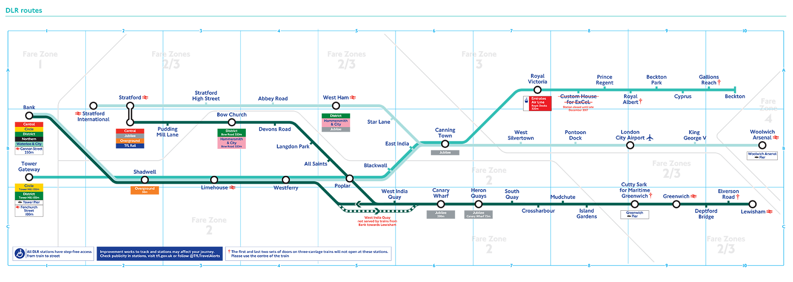Tube Nerds Rejoice, There's A New Map To Celebrate The DLR's 30th