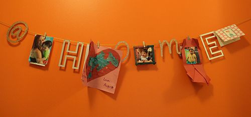 <strong>The mommy-and-me wall.</strong>