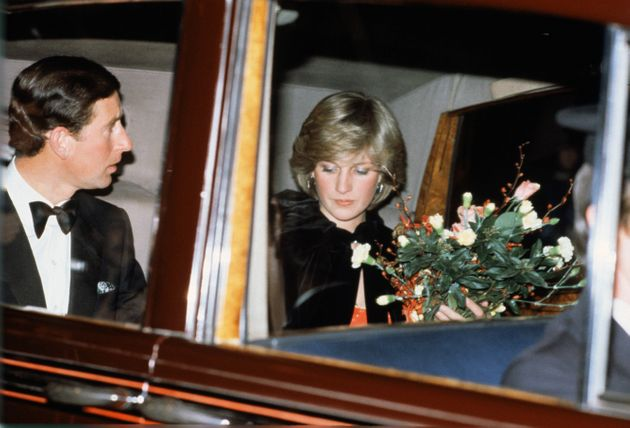 Charles and Diana in