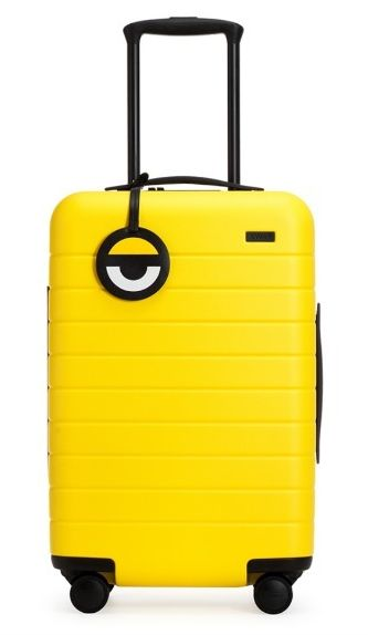 "<strong>Minions Yellow Carry</strong>-<strong>On</strong> from <a rel=""nofollow"" href=""https://www.awaytravel.com/luggage/car"