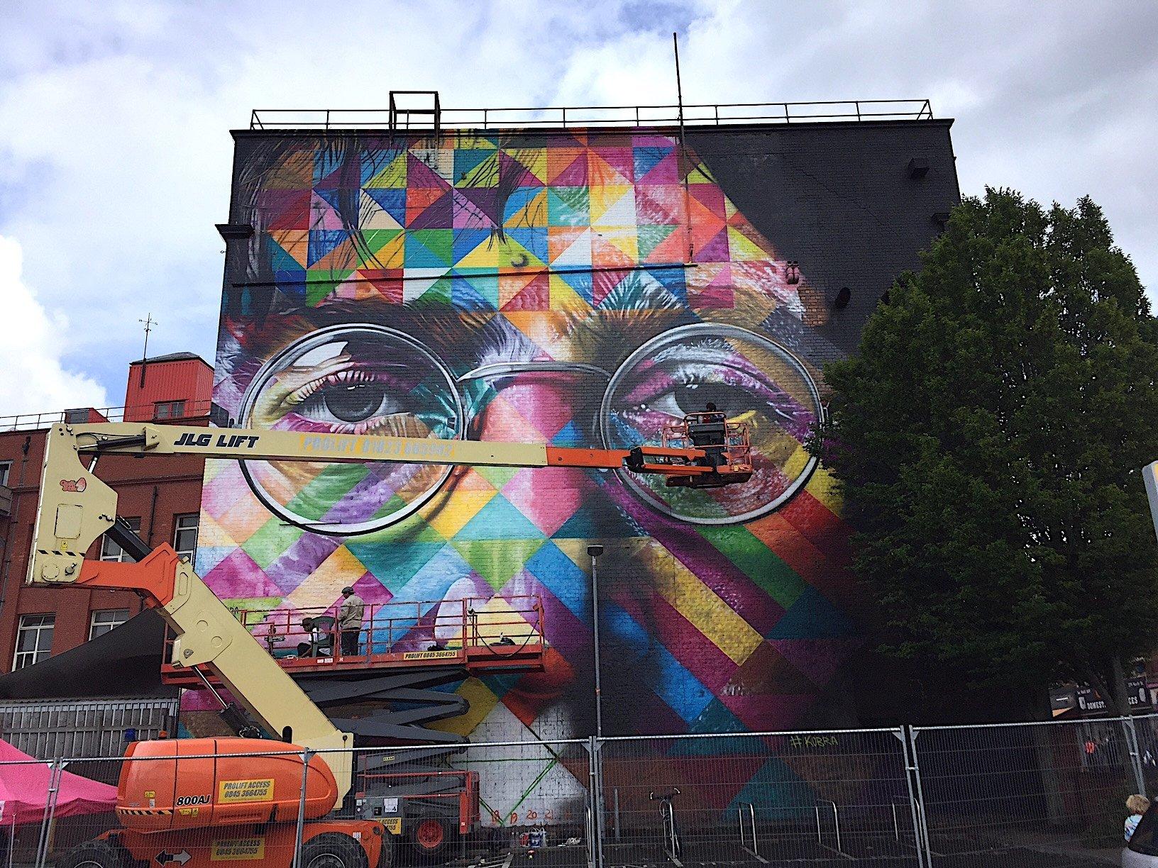 the diverse murals of europeus biggest live street art festival