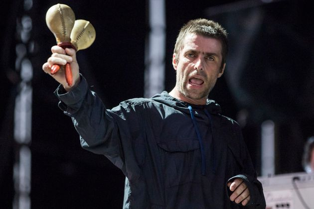 Liam Gallagher earlier this