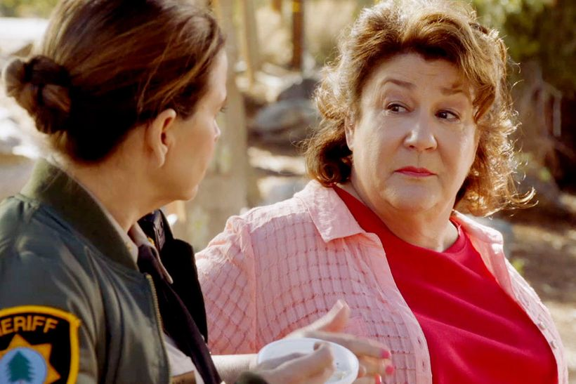 Guest Margo Martindale with Kellie Martin.