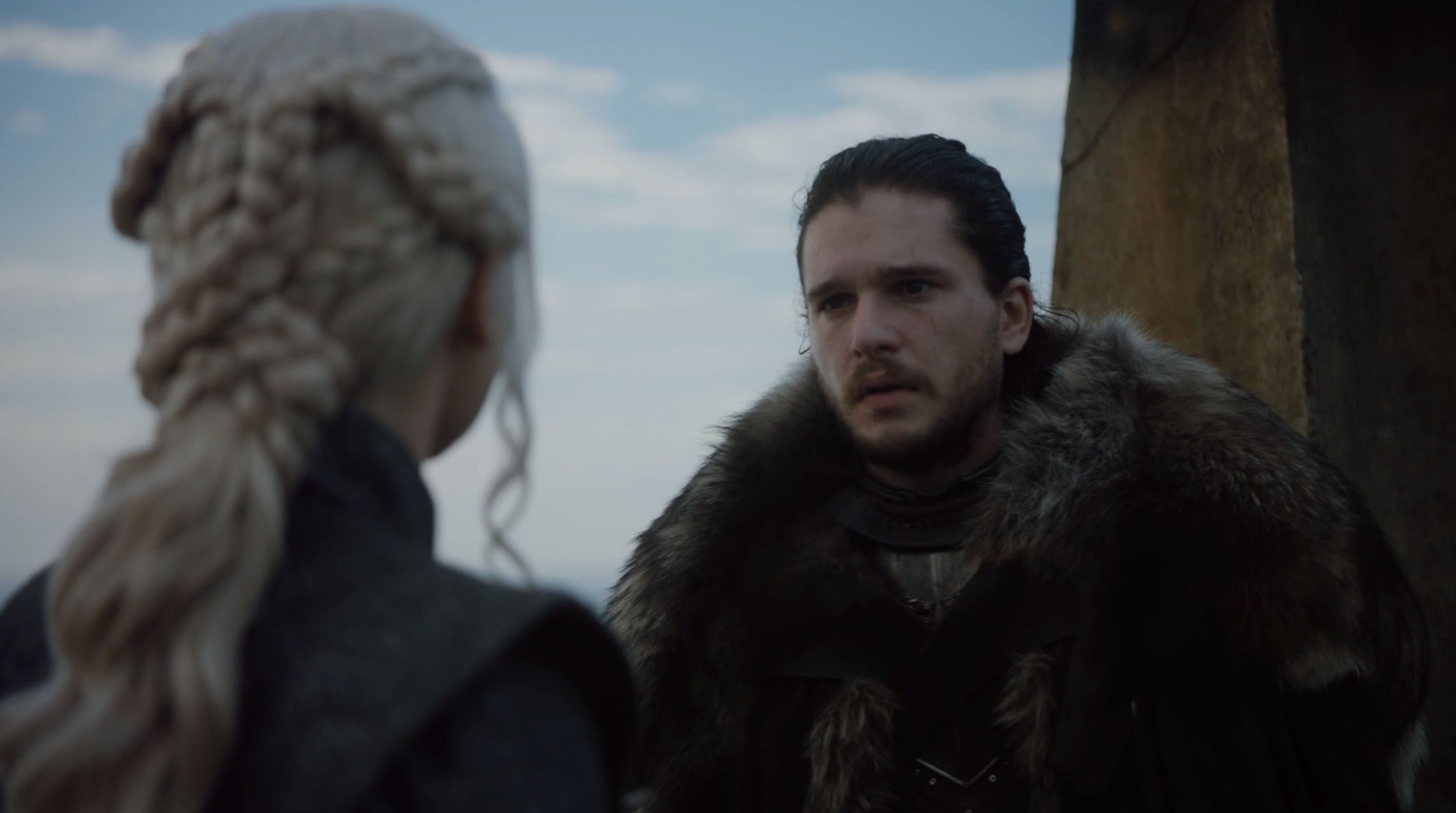 Os fãs enlouqueceram quando Jon Snow encontrou Daenerys em 'Game of
