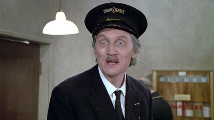 Stephen Lewis played Blakey in 'On The Busses'