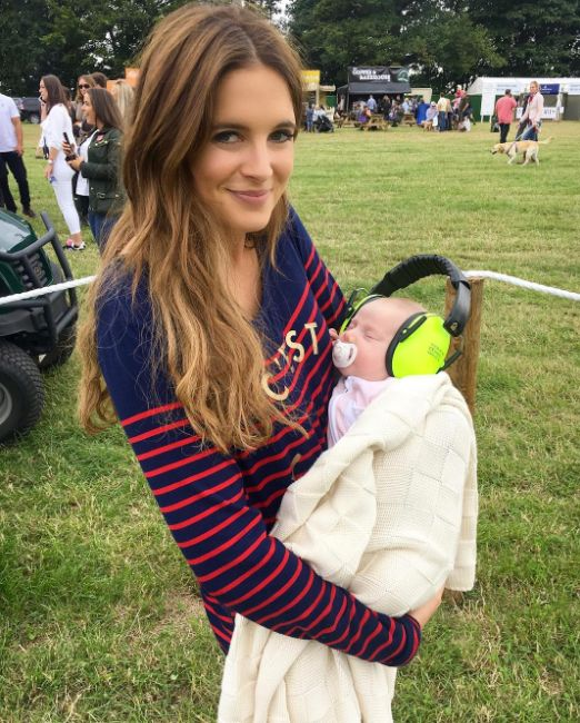 Binky Felstead Felt 'Uncomfortable' Breastfeeding In Public For The First