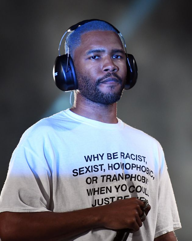 Frank Ocean's Anti-Bigotry T-Shirt Was Made By An