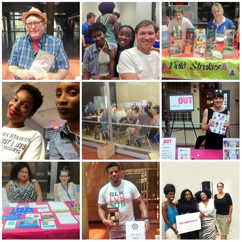 OutWrite 2015, collage courtesy of OutWrite.