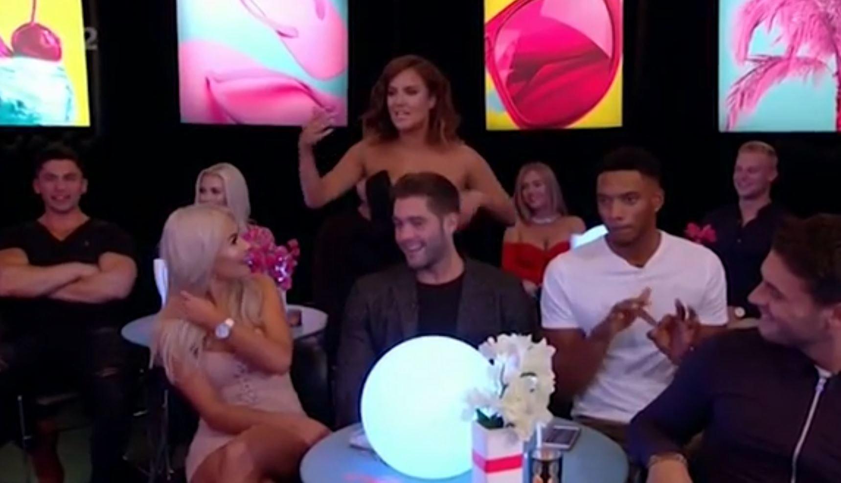 Love Island's Jonny Mitchell dumps Chyna Ellis LIVE on the reunion show
