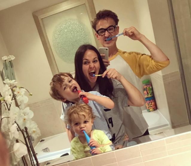 Tom Fletcher's Snap Of Where He And Giovanna Wake Up Every Morning Is Too Real For