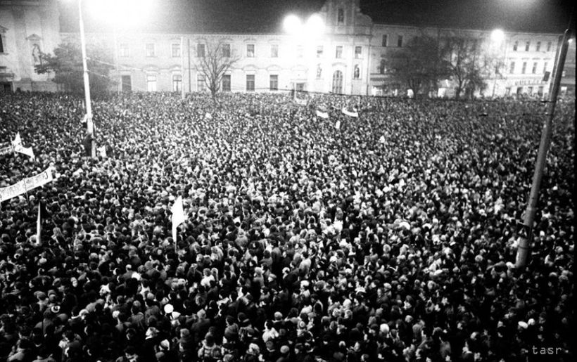 The Velvet Revolution, November 17th 1989