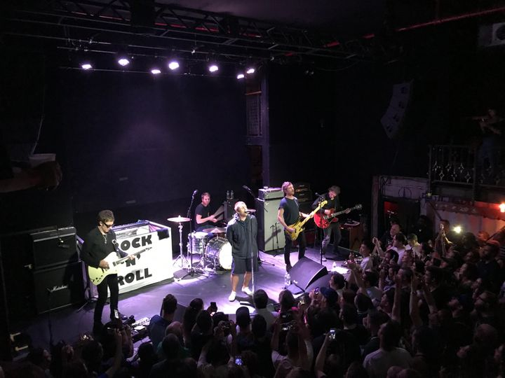 Liam Gallagher performs at Rough Trade in Brooklyn, New York, on July 30 2017.<i></i>