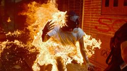 Las impresionantes imágenes de las protestas en