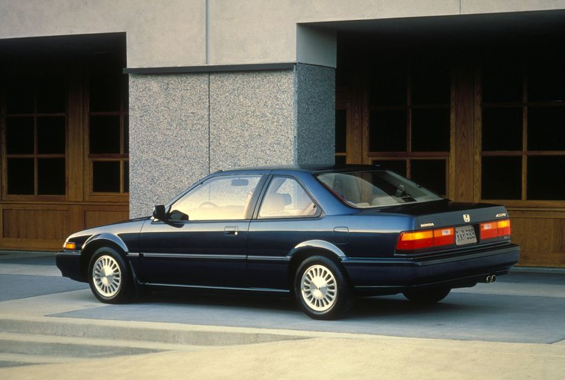 1989 Honda Accord SEi Coupe