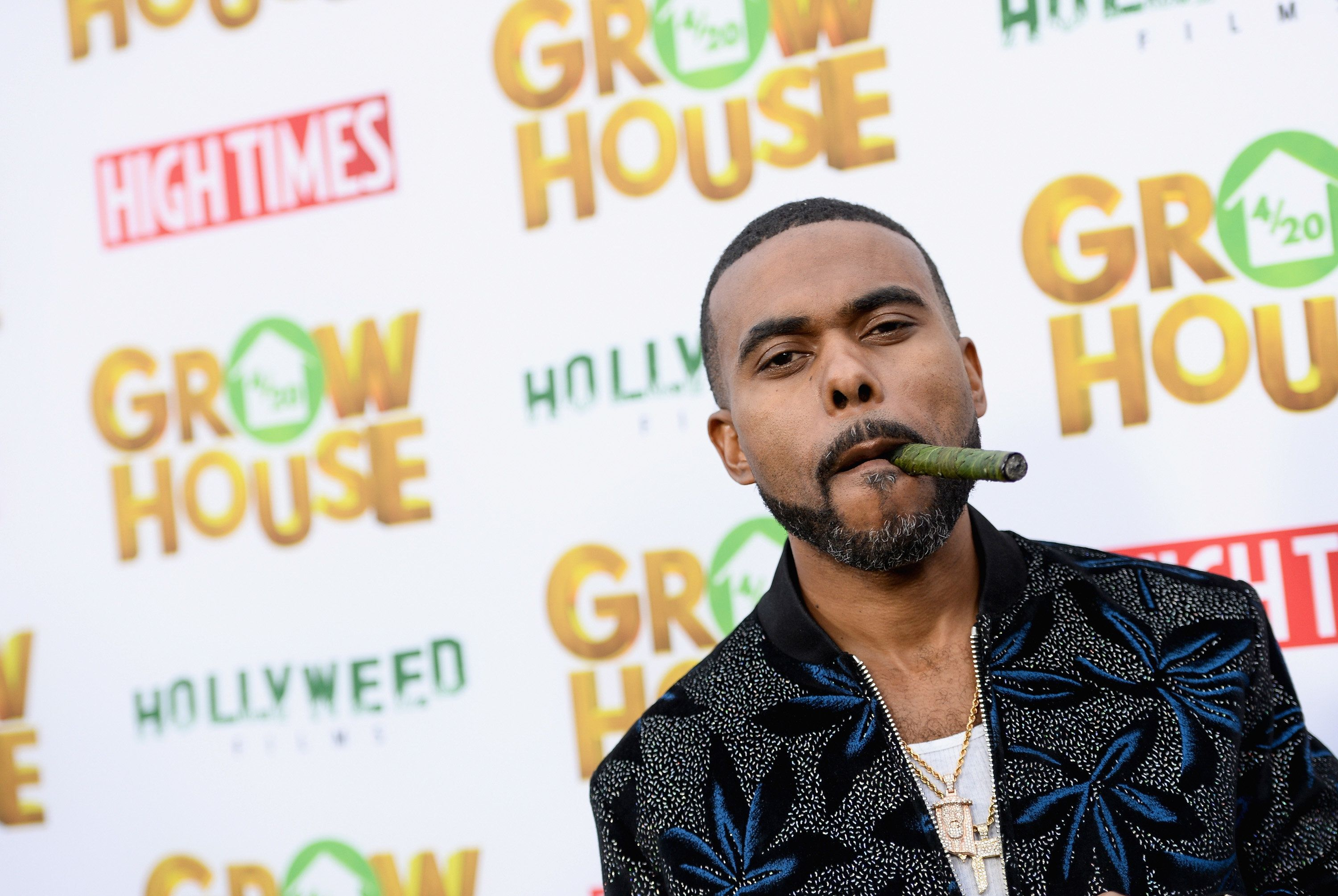 LOS ANGELES, CA - APRIL 17:  Comedian/actor Lil Duval arrives at the premiere of 'Grow House' at Regency Bruin Theatre on April 17, 2017 in Los Angeles, California.  (Photo by Tara Ziemba/Getty Images)