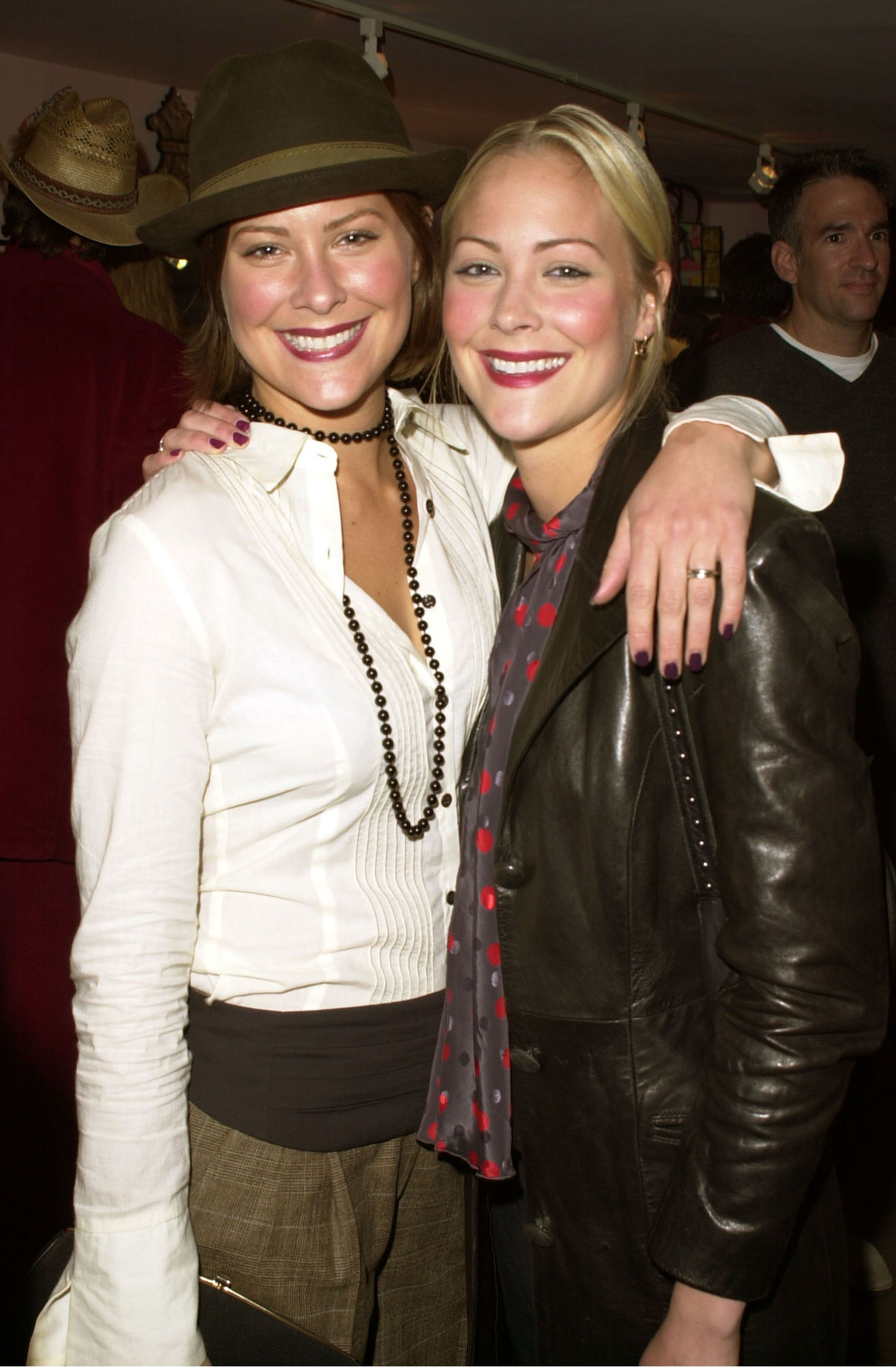 Brittany Daniel & Cynthia Daniel during Fifi & Romeo Store Opening at Fifi & Romeo Store in Los Angeles, California, United States. (Photo by J. Vespa/WireImage)