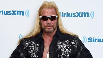 NEW YORK, NY - APRIL 24:  Dog the Bounty Hunter, Duane Chapman visits the SiriusXM Studios on April 24, 2015 in New York City.  (Photo by Ilya S. Savenok/Getty Images)