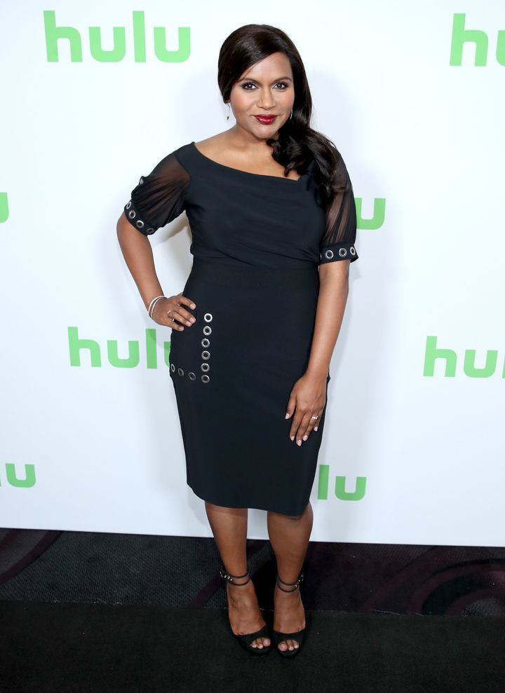Kaling appeared atthe TCA event after reports of her pregnant made headlines.