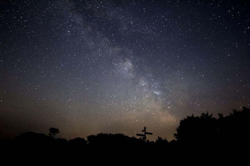 The Milky Way seen from Exmoor