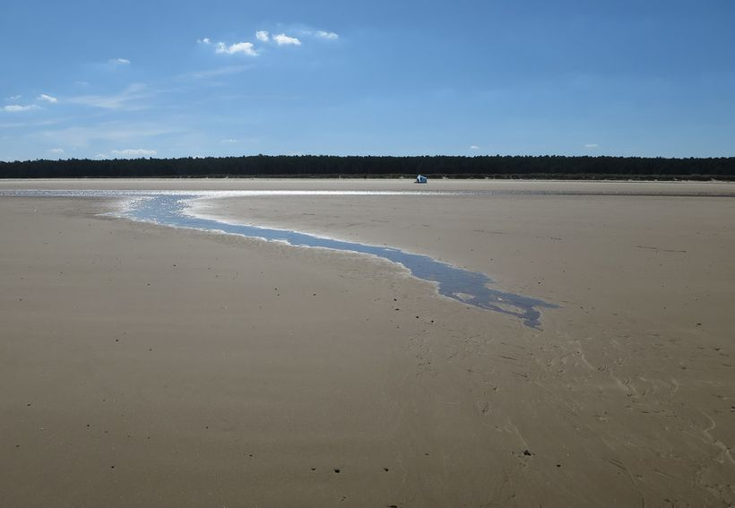 Holkham Beach in Norfolk