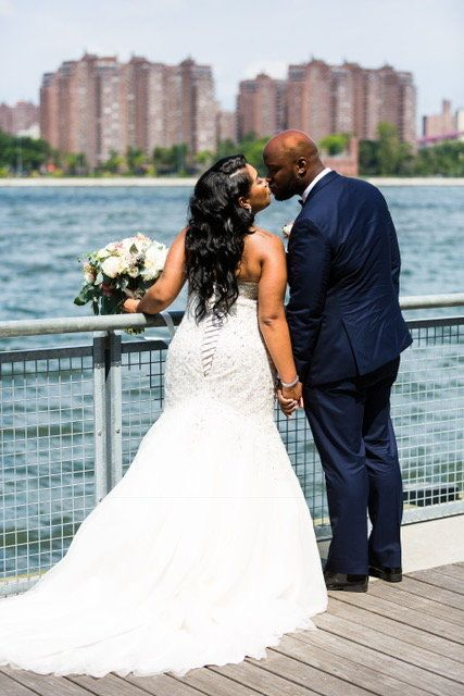 """David and Amanda Wilson married on July 15 at Giando On The Water in Brooklyn, New York."" -- <i>Mario Fernandez </i>"