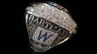 A look at Bartmans 2016 World Series Championship ring worth an estimated 70000