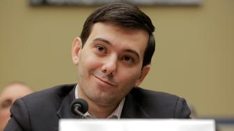 """Martin Shkreli, former CEO of Turing Pharmaceuticals LLC, prepares to testify before a House Oversight and Government Reform hearing on """"Developments in the Prescription Drug Market Oversight"""" on Capitol Hill in Washington February 4, 2016. REUTERS/Joshua Roberts"""