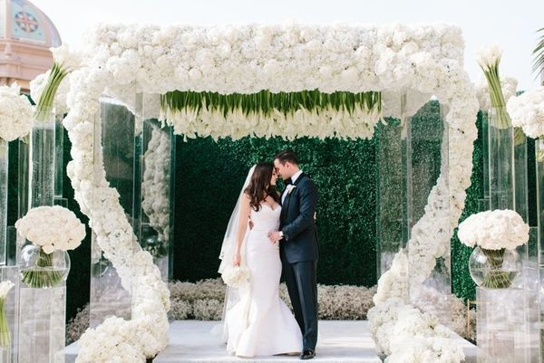"""I had the honor of planning my best friend's wedding on July 4th weekend at the Montage in Beverly Hills, which was fitting"