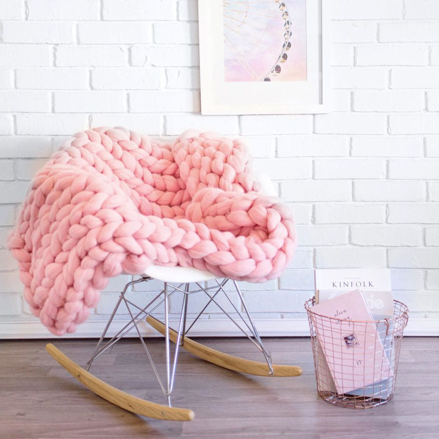 Here S Where You Can Buy Chunky Knit Blankets And Throws Huffpost Life