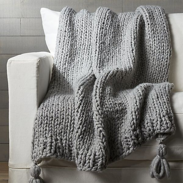 Here S Where You Can Buy Chunky Knit Blankets And Throws