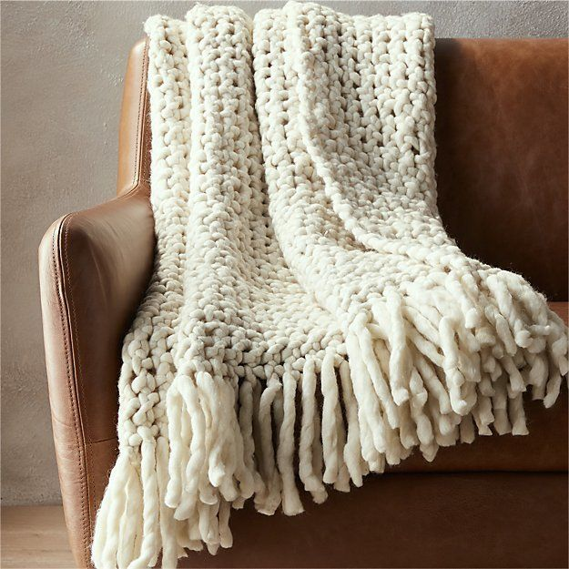 Heres Where You Can Buy Chunky Knit Blankets And Throws Huffpost Life