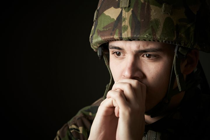<p>About a quarter of those deployed develop PTSD.</p>