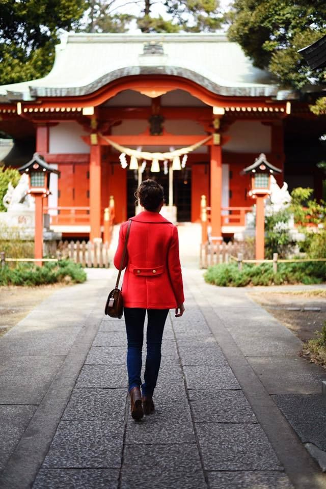 "Neighborhood Shinto Shrine in <a rel=""nofollow"" href=""https://travelwithnanob.com/2016/02/14/tokyo-guide-jiyugaoka/"" target="""