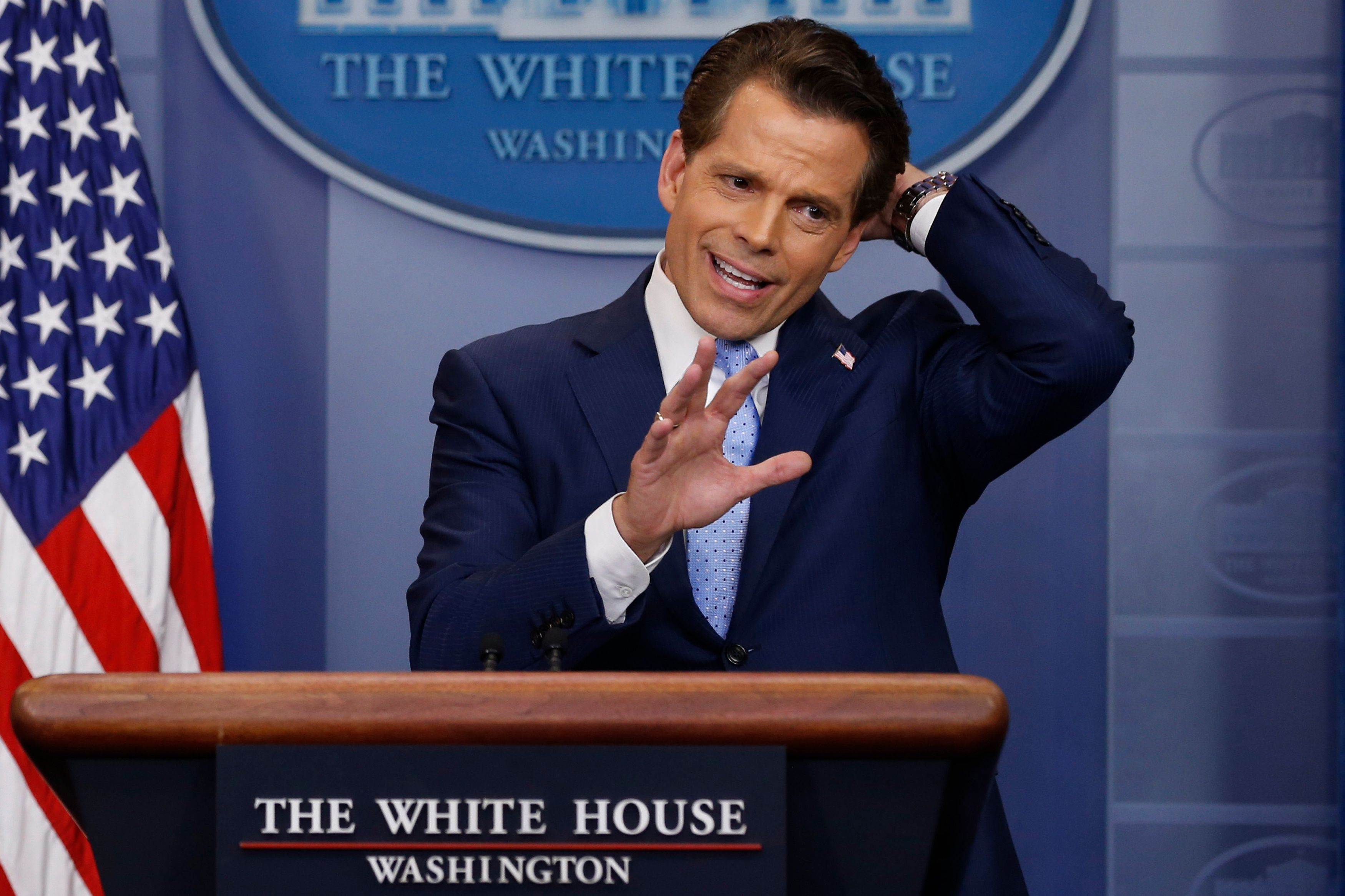 Anthony Scaramucci Sent Some Seriously Bizarre Emails To A