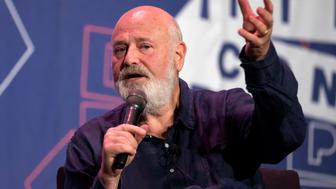 Rob Reiner speaks during Politicon at the Pasadena Convention Center in Pasadena, California on July 29, 2017. Politicon is a bipartisan convention that mixes politics, comedy and entertainment. (Photo by: Ronen Tivony) (Photo by Ronen Tivony/NurPhoto via Getty Images)