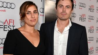 HOLLYWOOD, CA - NOVEMBER 09: Actors Summer Phoenix and Casey Affleck attend the screening of 'Out of the Furnace' during AFI FEST 2013 presented by Audi at TCL Chinese Theatre on November 9, 2013 in Hollywood, California.  (Photo by Alberto E. Rodriguez/Getty Images for AFI)
