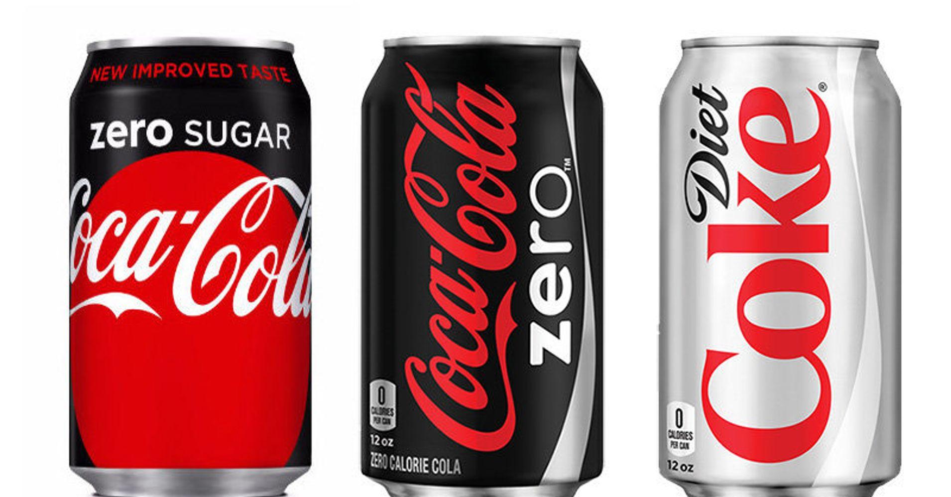 Here's The Difference Between Diet Coke, Coke Zero And Coke Zero Sugar | HuffPost