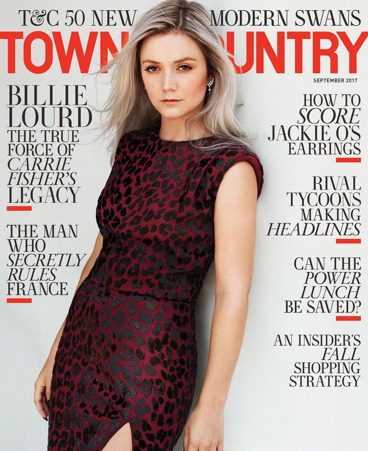 Town & Country's September cover.