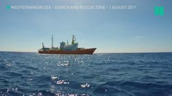 The Moment A Humanitarian Vessel Receives A Rescue
