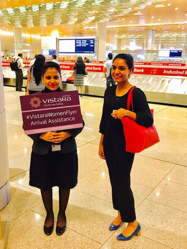 As part of the program, Vistara assists women traveling alone with booking seats, accessing baggage and...