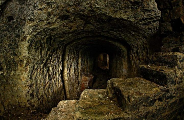 The tunnels could be potentially over 100 years old
