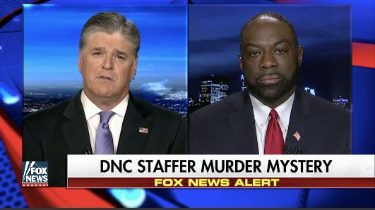 "Rod Wheeler appeared on ""Hannity"" on May 16 to talk about the death of Seth Rich."
