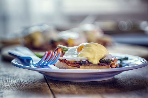Brunch is usually about decadence, and it doesn't get more decadent than Eggs Benedict. Plus, anything with hollandaise sauce