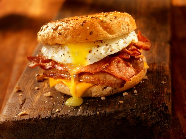 Sure, you can pick up a breakfast sandwich at your local coffee spot and eat it on the go. But the kind of breakfast sandwich
