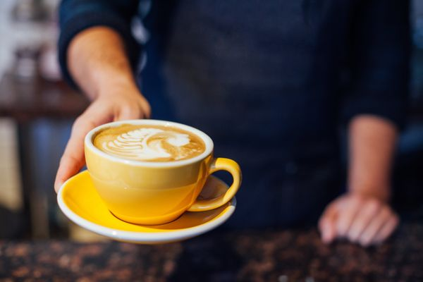 Any coffee that someone else makes for you is basically the best. And at brunch, where you can linger for over an hour, you c