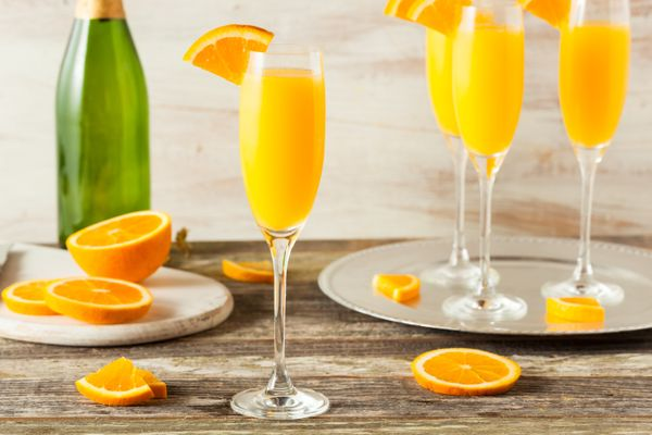 Champagnehas given orange juice itstrue purpose in the form of a mimosa. It's a must.