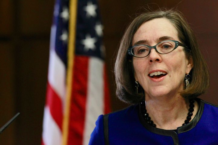 Gov. Kate Brown (D) is charging ahead with expanded health care coverage, fighting climate change, respecting transgende