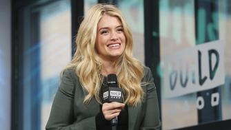 NEW YORK, NY - MAY 09:  Television host Daphne Oz visits Build to discuss KIND Snacks' 'Raise The Bar' Contest at Build Studio on May 9, 2017 in New York City.  (Photo by Mireya Acierto/FilmMagic)