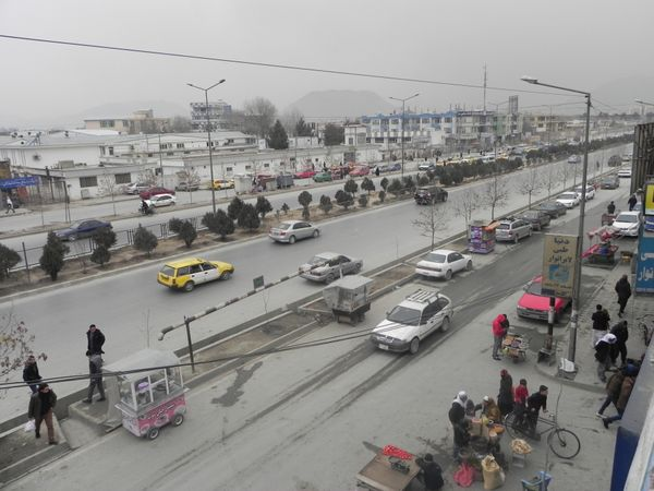 Darulaman Road in Kabul is home to the Russian Embassy, American University of Afghanistan and the Afghan Parliament. It is m